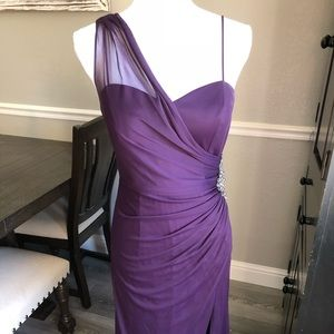 97e2c073ee2 Xscape Dresses - Prom formal dress XSCAPE Macy s size 8 Purple